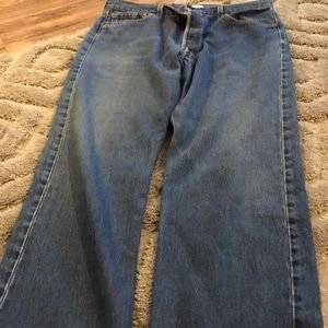 Vintage 501 Button Fly Jeans